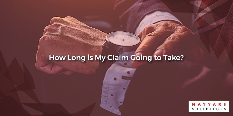 how long does a personal injury claim take