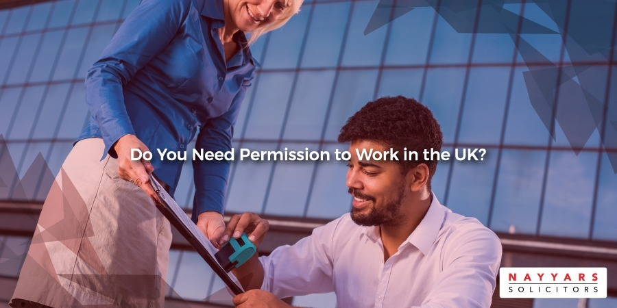 Do you need permission to work in the UK?