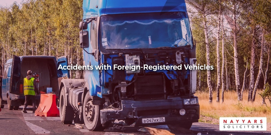 Accidents with foreign-registered vehicles