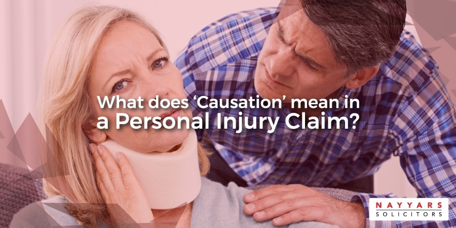 "What does ""Causation"" mean in a Personal Injury Claim"