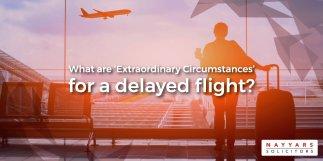 extraordinary circumstances flight delay