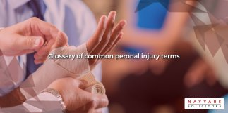 personal injury legal terms