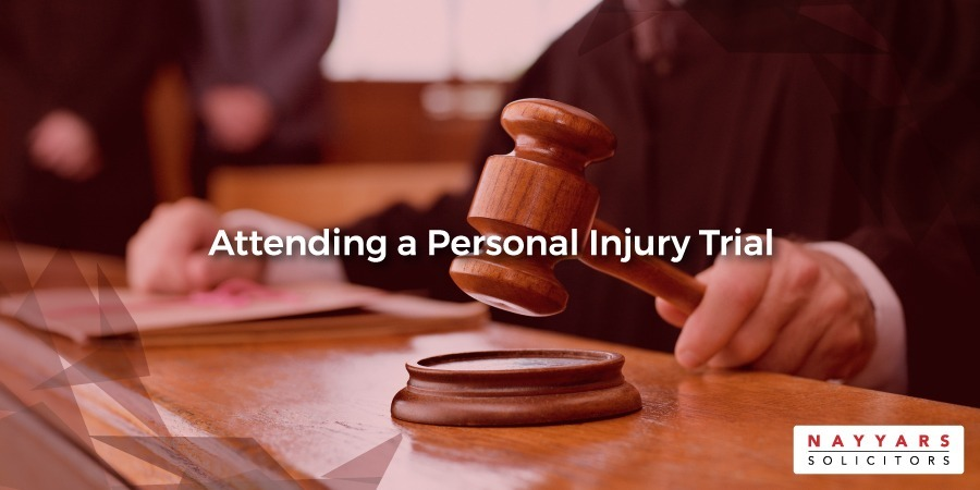 Attending a Personal Injury Trial