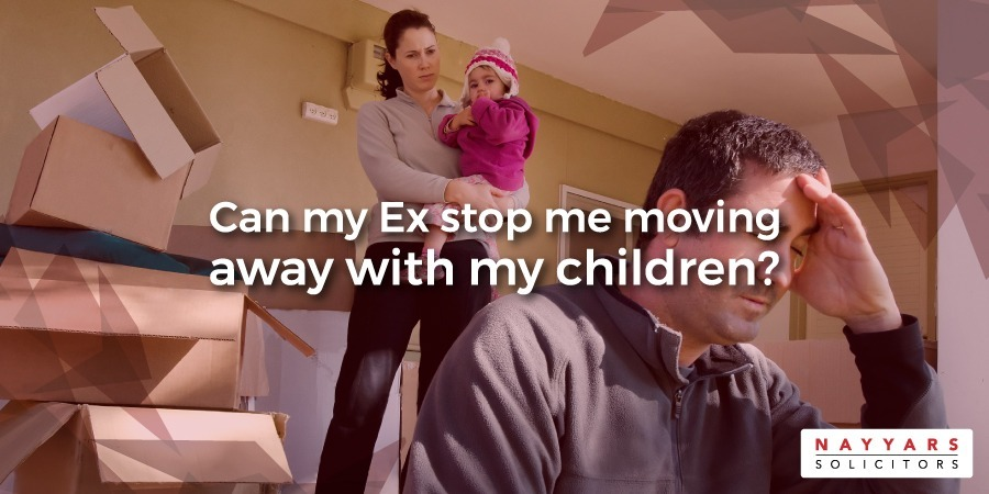Can my Ex stop me moving away with my children
