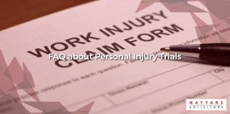 FAQ about Personal Injury Trials