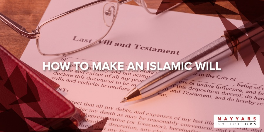 How to Make an Islamic Will