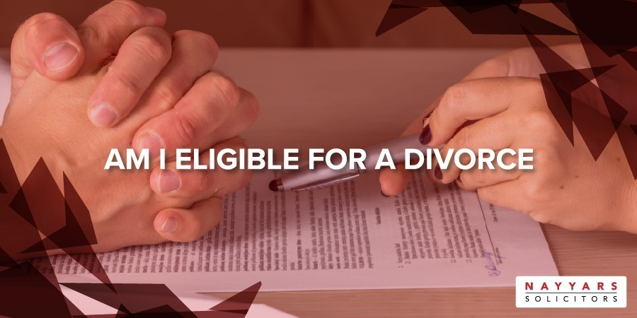 Am I eligible for a divorce?