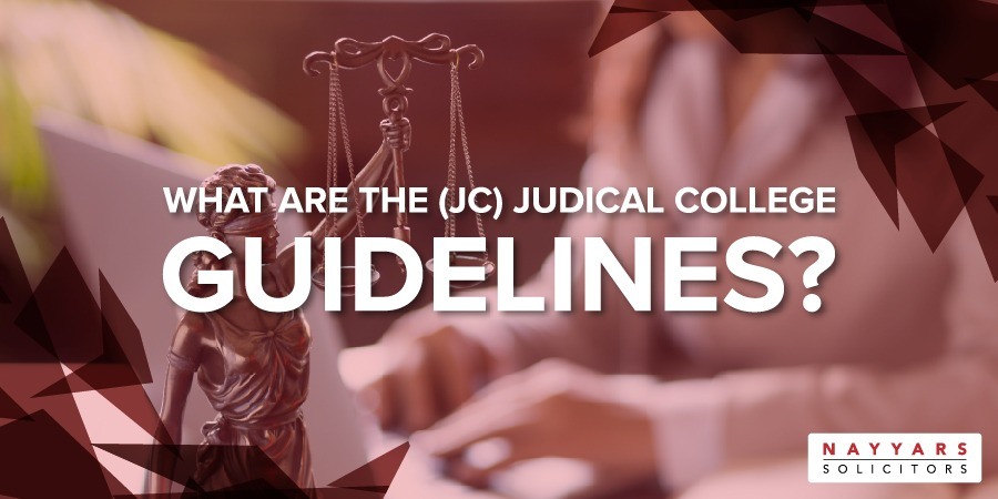Judicial College Guidelines