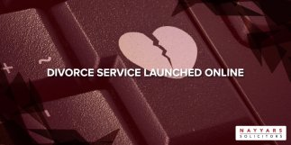 Divorce Service Launched Online