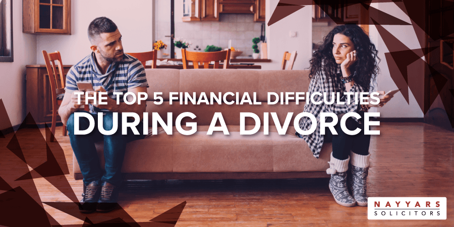 Financial Difficulties During a Divorce