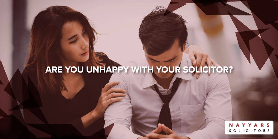 Are you unhappy with your solicitor