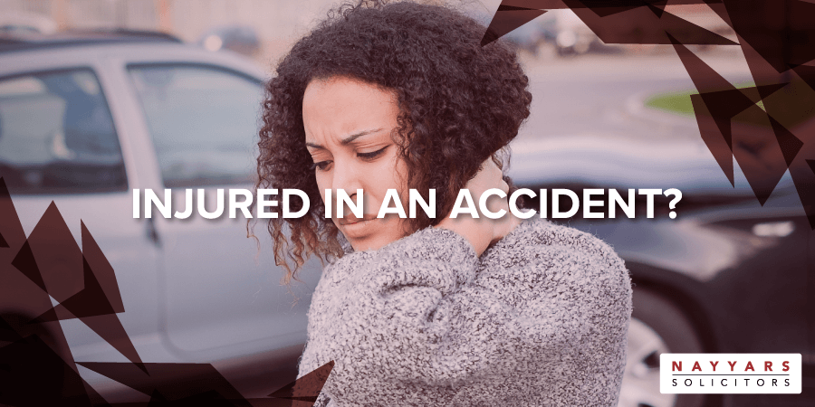 Injured in an accident