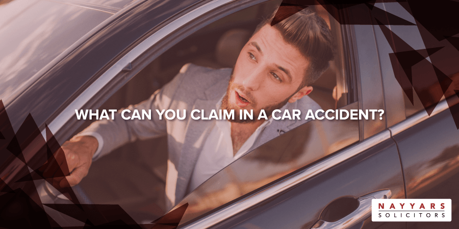 WHAT CAN YOU CLAIM IN A CAR ACCIDENT
