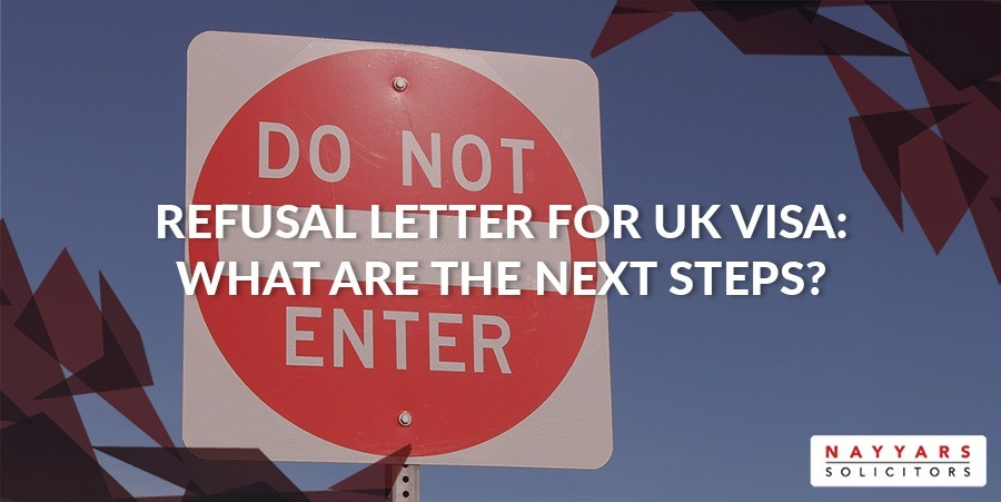 Refusal Letter for UK Visa