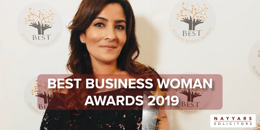 Best Business Women Awards 2019 WINNER