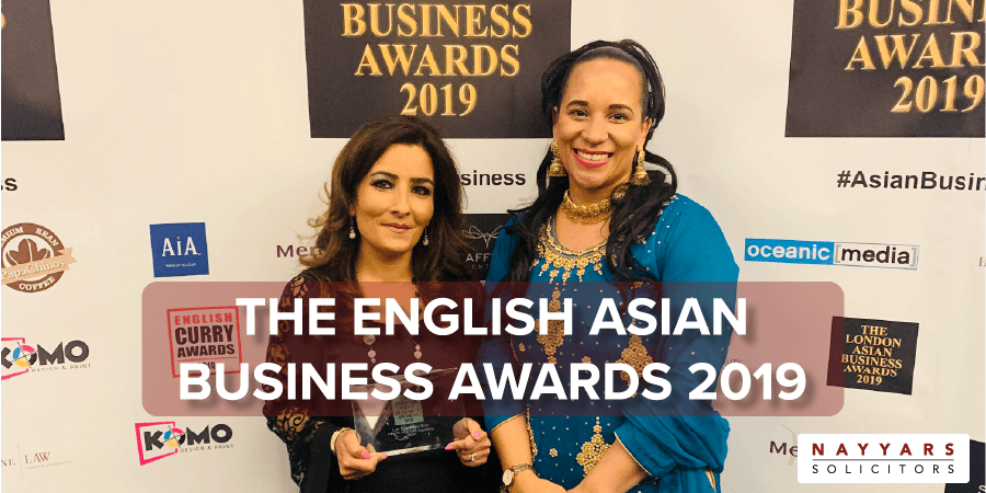 English Asian Business Awards Winner